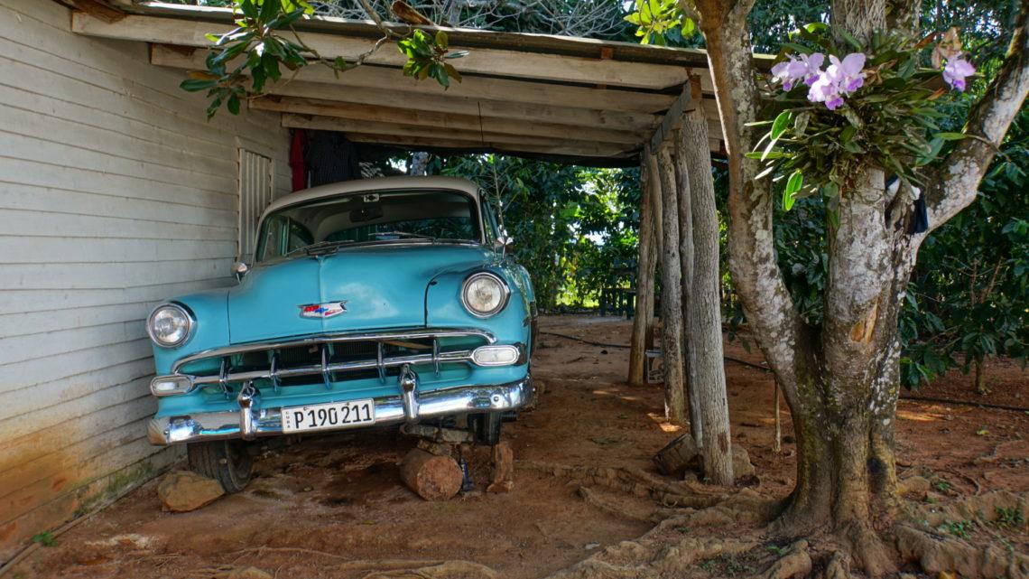 Zeitungsbericht über meine Radreise in Kuba