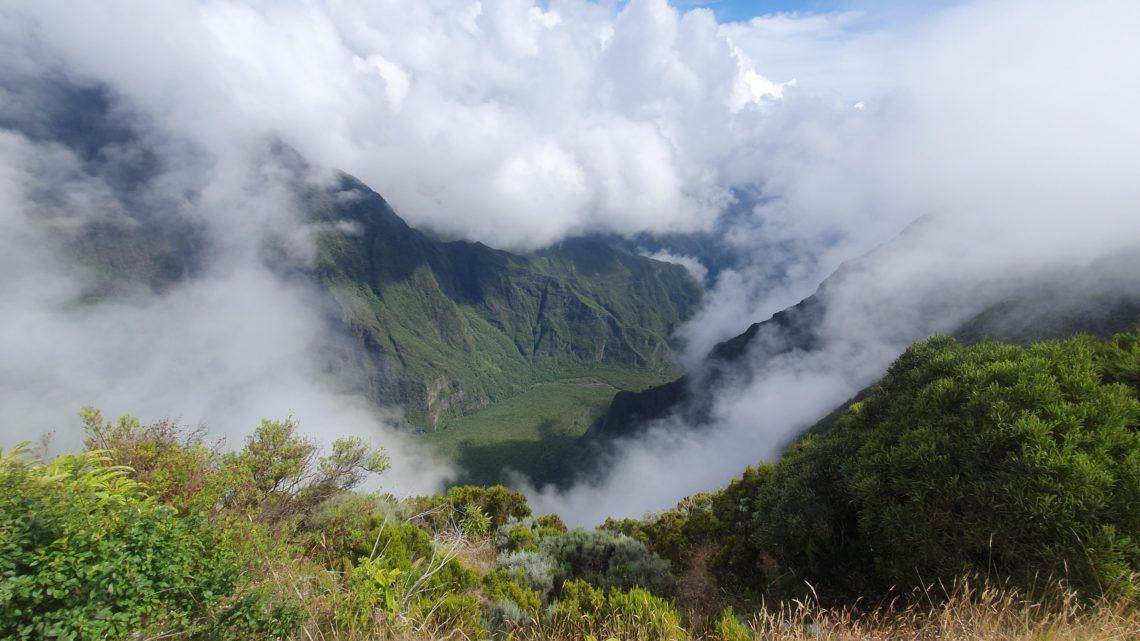 Zeitungsbericht über meine Zeit auf La Reunion