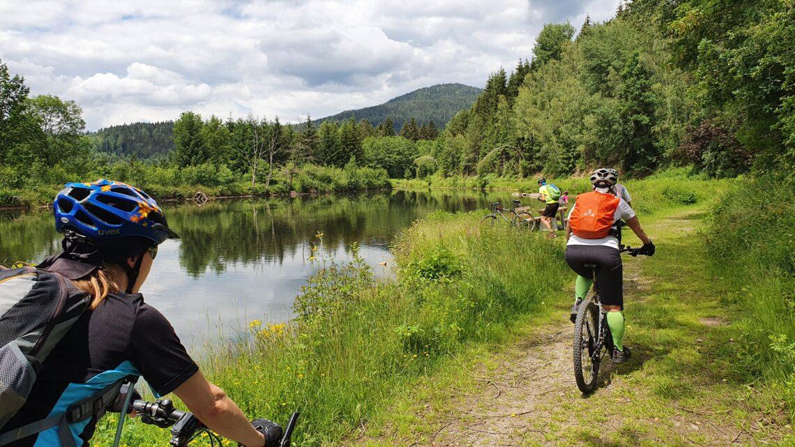 Bayerischer Wald MTB-Tour