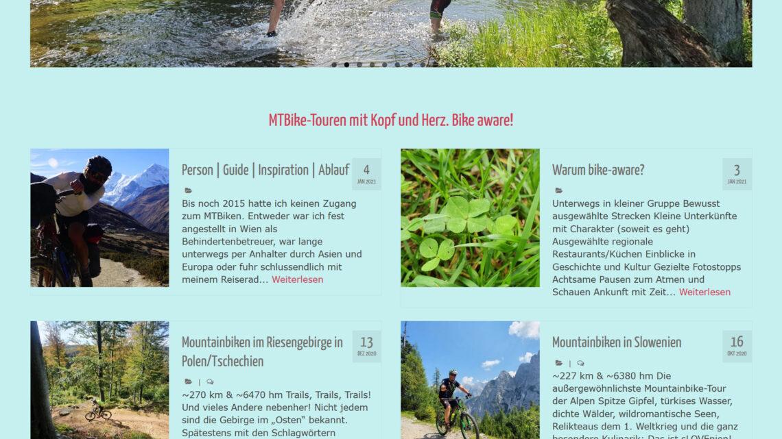 Touren mit dem Mountainbike in Bayern, Tschechien, Slowenien, Polen